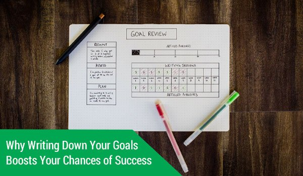 Why Writing Down Your Goals Boosts Your Chances of Success